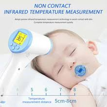 Baby Body Measure Tools <b>Forehead Thermometer Digital Infrared</b> ...