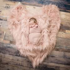Clearance <b>75X50cm</b> Newborn Baby Infant <b>Photo Blanket</b> Fake Fur ...