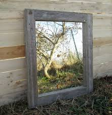 country themed reclaimed wood bathroom storage: reclaimed wood mirror rustic lodge decor bathroom mirrors