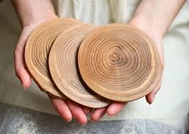 <b>Подставка под горячее</b> из <b>дерева</b> - дуб | Лес домой | Деревянные ...