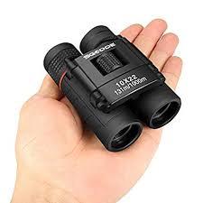 SGODDE Mini Compact Binoculars, 10x22 Small ... - Amazon.com