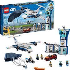 <b>LEGO City</b> Sky <b>Police</b> Air Base <b>60210</b> Building Kit, New 2019 (529 ...