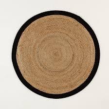 <b>Ковер</b> круглый из <b>джута</b>, aftas экрю/ черный <b>La Redoute</b> Interieurs ...