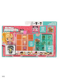 <b>Игровой</b> бокс + 2 <b>фигурки</b>, My Mini MixieQ's <b>Mattel</b> 3940625 в ...