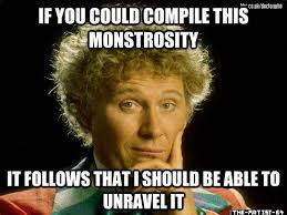DeviantArt: More Like Wordy Sixth Doctor Meme by The-Artist-64 via Relatably.com