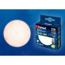 <b>Лампа</b> светодиодная (UL-00003724) <b>Uniel GX53 13W</b> 3000K ...
