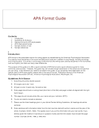 best photos of book review sample apa paper style format example cover letter best photos of book review sample apa paper style format exampleexamples of apa format