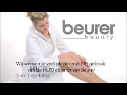 <b>Beurer HL70</b> Epilator 3-in-1 Multibrands NL - YouTube
