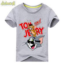 Online Shop <b>2018</b> Baby <b>Cartoon</b> Mouse Cat <b>Printing</b> T-<b>shirt</b> For Boy ...