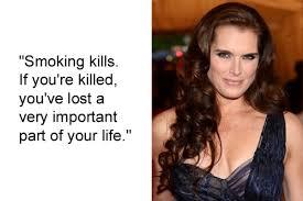 Brook Shields – Dumb Celebrity Quote via Relatably.com