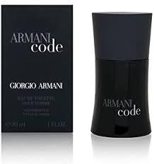Armani Code by <b>Giorgio Armani</b> For Men. Eau De Toilette Spray <b>1</b> ...