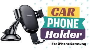 <b>Essager Gravity Car</b> Phone Holder - YouTube