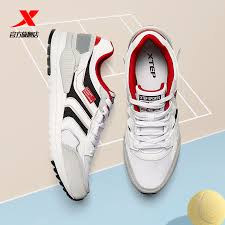 Xtep Men's Sports Shoes <b>Summer Breathable Casual</b> Shoes Light ...
