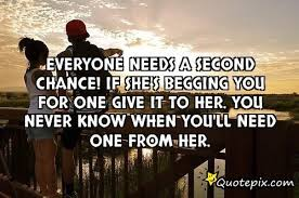 Second Chance Quotes About Relationships. QuotesGram