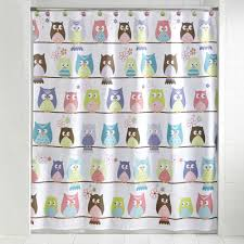 Owl Bedroom Curtains Mainstays Whooty Hoot Decorative Bath Collection Shower Curtain