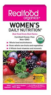 Country Life <b>Realfood Organics</b>® <b>Women's</b> Daily Nutrition® -- 60 ...