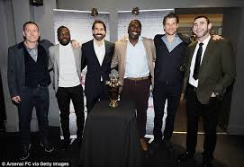 Image result for arsenal invincible squad