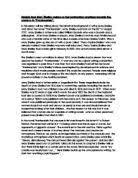 descriptive essay a place of destruction   gcse english   marked  frankenstein essay quot