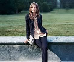Черный женский пиджак (99 фото): с чем носить, образы, с ...