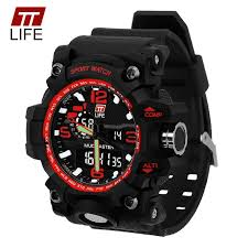 Fashion <b>TTLIFE</b> Brand <b>Men</b> Quartz Digital Wristwatches <b>Men</b> Sports ...