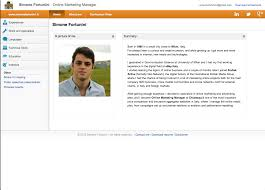 the best online resume ever careergravity simone fortunini home