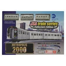 LEC 2000 MTA <b>New</b> York <b>City</b> Subway <b>Battery</b> Operated <b>Train</b> Set ...