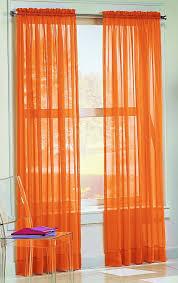 latest orange curtain design modern interior orange elegant vitrage kids bedroom curtains