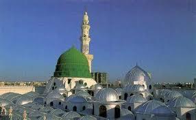 Image result for ruang dalam masjid nabawi