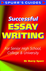 successful essay writing cover