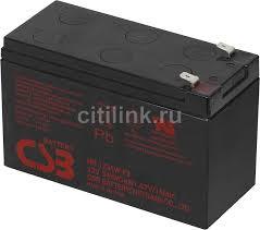 Купить <b>Аккумуляторная батарея для</b> ИБП CSB HR1234W F2 в ...