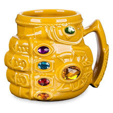 Thanos Infinity Gauntlet Mug - Marvels <b>Avengers</b>: Infinity Wars Cup ...