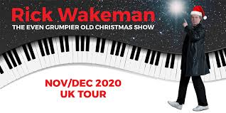 <b>Rick Wakeman</b> – The Even Grumpier Old Christmas Show Tour ...