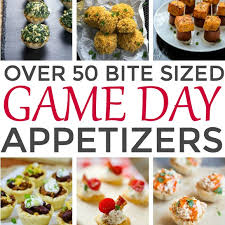 Over 50 Bite Sized Game Day Appetizers | This Gal Cooks