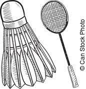 """Résultat de recherche d'images pour """"badminton dessin"""""""