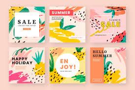 Free Vector | <b>Summer vibe</b> web design