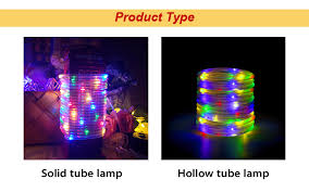 <b>CHIZAO</b> 100 LEDs Neon Rope Tube Strip <b>Light</b> Wire Flexible ...