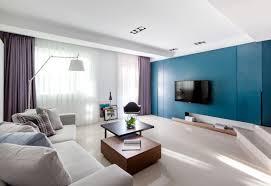 Purple Living Room Design Blue Purple Living Room Interior Design Ideas