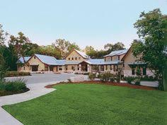 ideas about Texas Ranch Homes on Pinterest   Texas Ranch    Sprawling Texas Ranch style home
