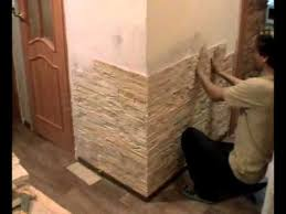 Укладка тонкого камня Zikam <b>Stone</b> в обычной квартире ...