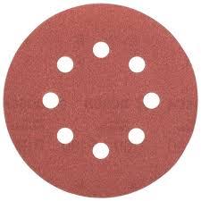 <b>Шлифовальный круг</b> на липучке <b>BOSCH</b> 2609256A26 <b>125 мм</b> 5 шт
