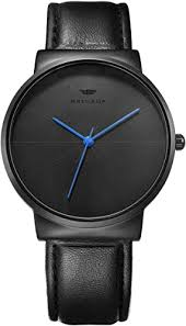 BRIGADA Black Men's Watches Classic Business ... - Amazon.com