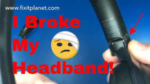 Sony MDR 1000X Headband Repair From Start To <b>Finish</b>. Quick ...