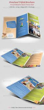17 best images about design templates for school preschool trifold brochure