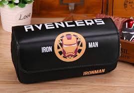 Кожаный <b>пенал Марвел</b> Железный Человек купить по цене 750 ...