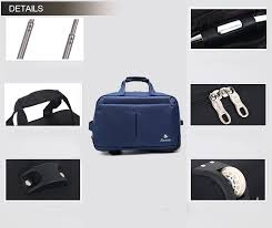 <b>2pcs Set Hotsale</b> Travel Nylon Material Iron Trolley Duffel Bag - Buy ...