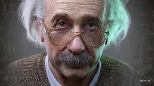 Albert <b>Einstein 3D</b> Portrait for a Hologram (Facial Rig and Animation ...
