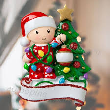2020 <b>Christmas Decorations DIY</b> Personalized Baby With <b>colorful</b> ...