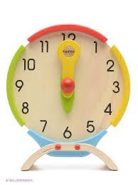 Часы <b>PLAN TOYS</b> 2131015 в интернет-магазине Wildberries.ru