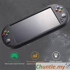 <b>PSP X16</b> Large Screen <b>7</b>-<b>inch</b> HD Handheld GBA Arcade Game FC ...