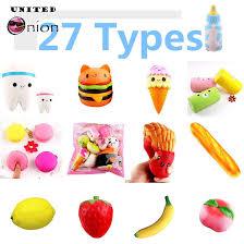 19 Styles <b>Jumbo Kawaii</b> Bread Apple <b>Ice cream</b> Pumpkin Squishy ...